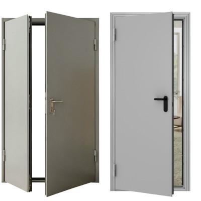Самые дешевые железные двери