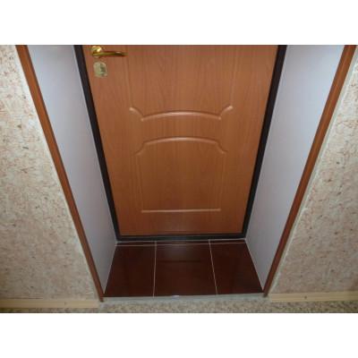 Как сделать откосы на входной двери