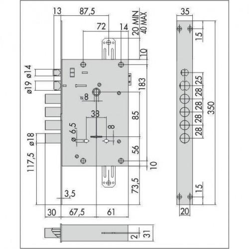 CISA 17.685 Cambio электромеханический