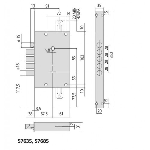 Cisa 57685 CAMBIO с перекодировкой