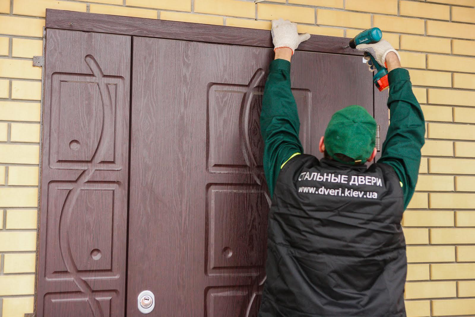 дверь металлическая купить и установить в москве